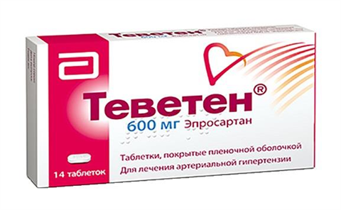 теветен 600мг n14 таб abbott healthcare sas  фото
